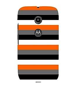 Rack Pattern 3D Hard Polycarbonate Designer Back Case Cover for Motorola Moto E2 :: Motorola Moto E (2nd Gen)