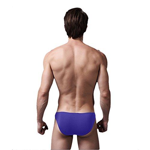 VENIMASEE Sexy atmungsaktiv Modal Unterw?sche der Herren Kurz, 5 Farben, M-XXL, Preise / Piece, Geschenk-Idee Violett