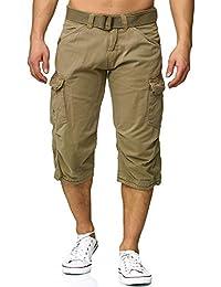 Indicode Homme Hommes Bermuda Shorts 3/4 Shorts Nicolas Check
