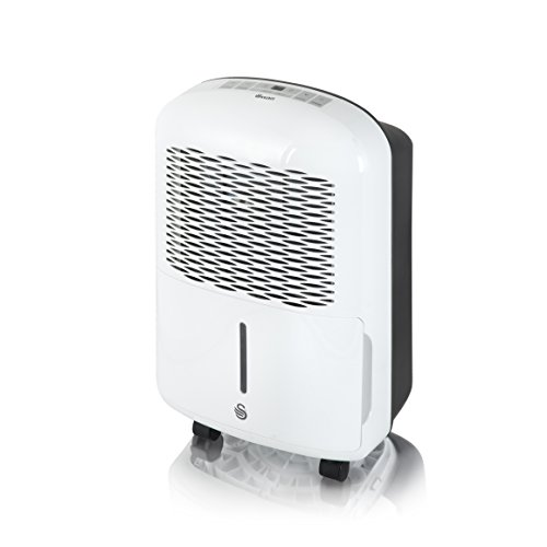 41JZOHBJRJL. SS500  - Dehumidifier by Swan - Compact, Portable & Powerful - 10 Litre Per Day - Continuous Dehumidification - Continuous Draining -  Silent Mode - 24hr Timer - SH5010N - 2 Year Manufacturer Warranty