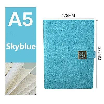 tree-free, wiederverwendbar, water-to-erase für die Notizbuch A5-Notizbuch mit Bullet Journal, Cloud-, Regen-, 100Seiten