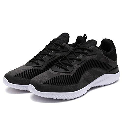 Hommes Respirant Chaussures De Sport Mode Chaussures De Sport Chaussures De Course Chaussures De Sport Euro Size 39-44 Gris
