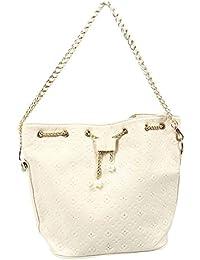 TOOGOO(R) Fashion Bag Women's Handbag Women Messenger Bags Women Leather Printing Handbags White