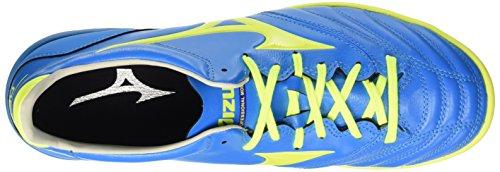 Mizuno Morelia Neo Kl As, Chaussures de Football Homme Bleu - Blu (Diva Blue/Safety Yellow)