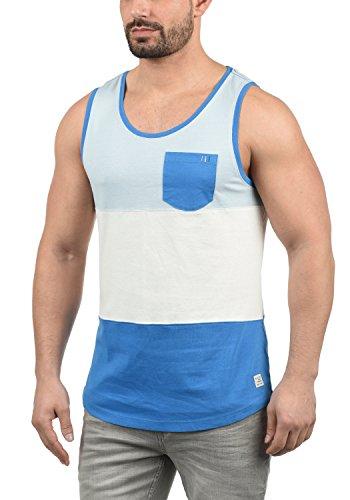 Blend Neo Herren Tank Top mit Rundhalsausschnitt und Brusttasche Regular Fit, Größe:XXL, Farbe:Nautical Blue (74632) -