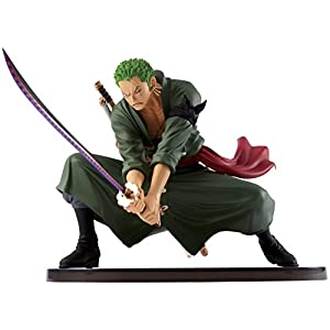 Banpresto One Piece 5-Inch Zoro Figure, SCulture Big Zoukeio 4 Volume 3 by 5