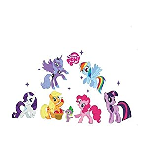 Wallpaper My Little Pony Kid's Bedroom Wall Sticker Art Decal Removable Mural DIY Decor by ASTrade