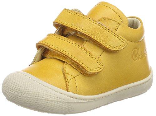 Naturino Baby Mädchen 3972 VL Sneaker, Gelb (Mais), 26 EU