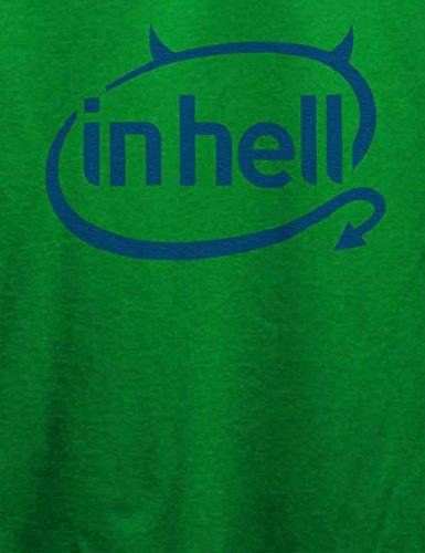 In Hell Logo T-Shirt Grün
