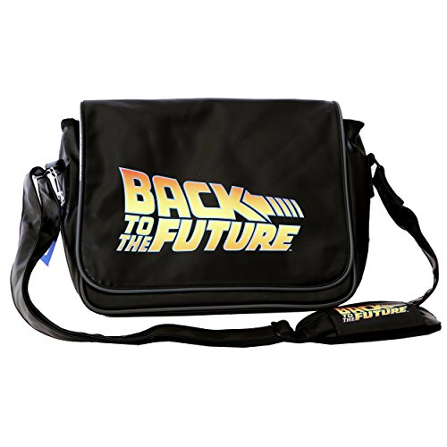 Back to The Future Logo with Flap Messenger Bag (Sdtuni89100)