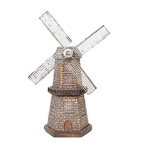 Kylin Express Retro Home/Office Desk Decor Romantic Windmill Furnishing Articles, K