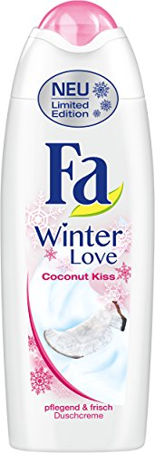 Fa Duschcreme Winter Love Coconut Kiss, 6er Pack (6 x 250 ml)