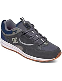 DC Shoes Notch B - Scarpe da Ginnastica Basse Uomo, Giallo (White), 39