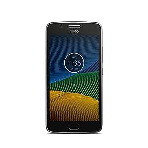 Lenovo Moto G5 Smartphone débloqué 4G (Ecran: 5 pouces - 16 Go - Nano-SIM - Android) Gris