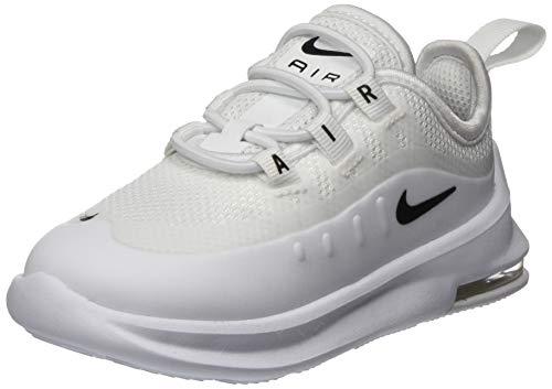 Nike Unisex Baby Air Max Axis (td) Hausschuhe, Mehrfarbig (White/Black/White/White 100), 21 EU