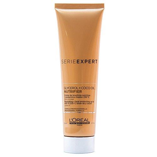 L'Oréal Série Expert Nutrifier Blow-Dry Cream Creme Trockens Haar 150Ml