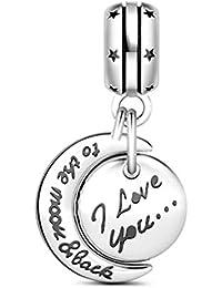 Nenalina Pendentif Western Bottes Charm 925 pour tous les bracelets Charm 713147-000
