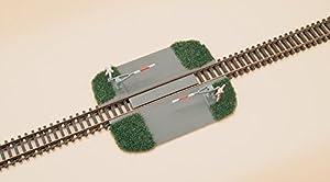 Auhagen 43645 - Cruce de ferrocarril - Halbschranke, Modelo Accesorios de Tren