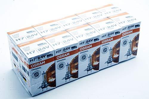 10x OSRAM H7 24V 70W PX26d 64215 ORIGINAL LINE LKW Bus Halogen Lampe Glühbirne Glühlampe - 24 Volt 70 Watt Glühbirne
