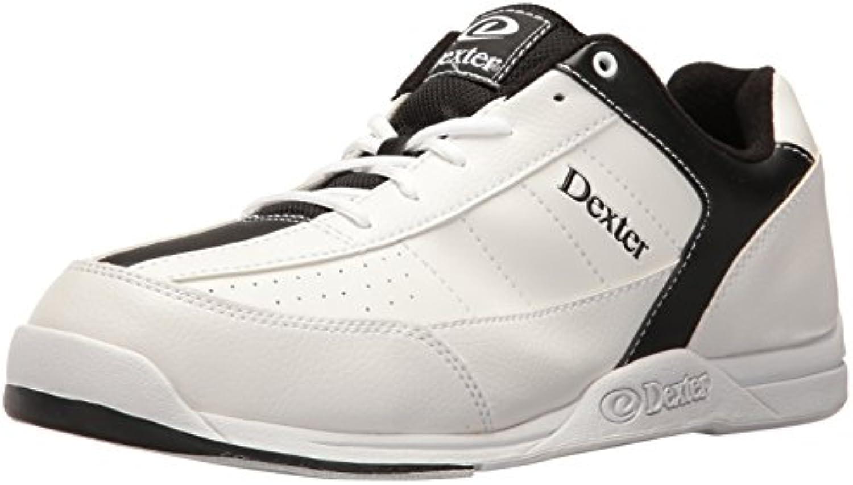 Dexter Ricky III - Scarpe da bowling per uomo, Bianco Bianco Bianco (bianco nero), US 12, UK 10.5 | prendere in considerazione  | Scolaro/Ragazze Scarpa  f44d5d