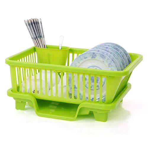 LouiseEvel215 Küchenregal Abtropfen Lassen Besteck Tasse Schüssel Abtropfen Lassen Gemüse Obst Abtropfen Lassen Regaltrocknen Multifunktionswerkzeug für die Küche (Pulls Tasse Küche)