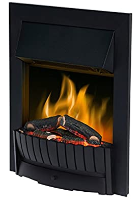 Dimplex 037824 CMT20 Clement Electric Inset Fire with Optiflame Effect, 2 Kw, 230 W