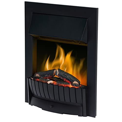41JZeZauI1L. SS500  - Dimplex CMT20 Clement Electric Inset Fire with Optiflame Effect, 2 Kw, 230 W