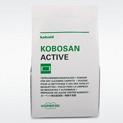 5 buste kobosan active 500 grammi polvere tappeti originale vorwerk
