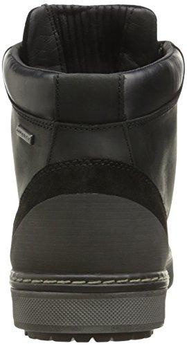 Geox U Mattias B Abx B, Sneakers alte Uomo Schwarz (BLACKC9999)