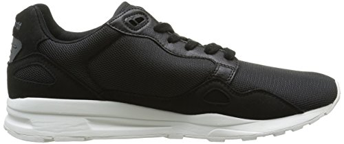 Le Coq Sportif Lcs R900 Poke, Baskets Basses Mixte Adulte Noir (Black/Charcoal)