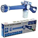 Onshoppy Ez Jet Water Cannon 8 In 1 Turbo Water Spray Gun For Gardening, Car Wash, Home Cleaning