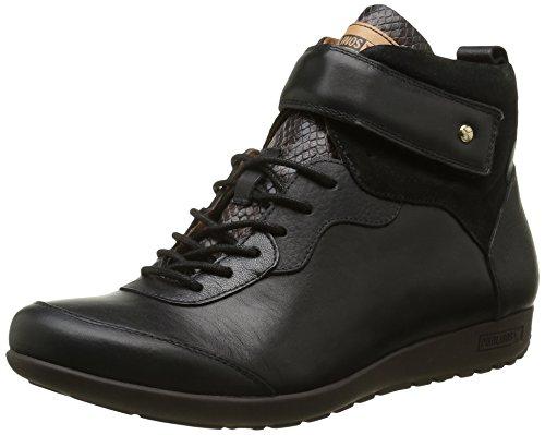 Pikolinos Damen Lisboa W67 I16 Sneaker Schwarz - Schwarz (Black)