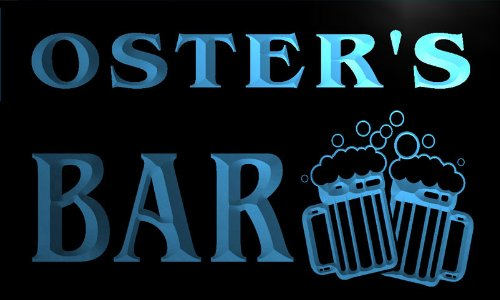 w005536-b-oster-name-home-bar-pub-beer-mugs-cheers-neon-light-sign