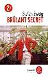 Brûlant secret par Zweig