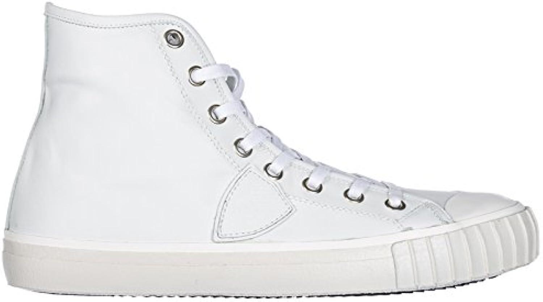 Philippe Model scarpe da ginnastica Alte Paris Uomo bianca bianca bianca bianca | Qualità primaria  1ac4fc