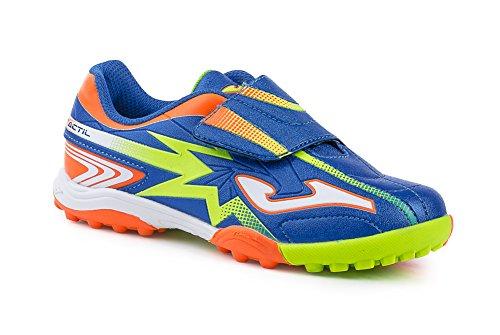 scarpe-calcetto-bimbo-tactil-jr-604-royal-orange-fluor-2427-27
