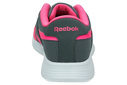 Reebok Bd5161, Sneakers trail-running mixte enfant Gris (Alloy/solar Pink/white)