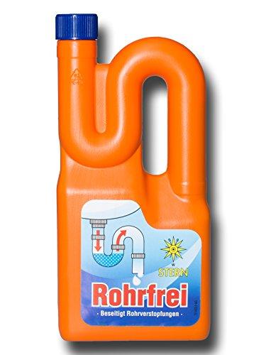 Stern Rohrfrei Abflussreiniger Rohrreiniger 1 Liter UN1824 (G3/19)