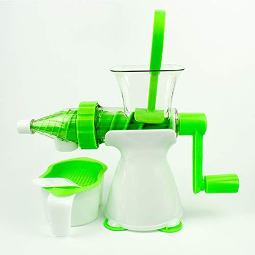 TKFY Succo di Frutta e Verdura Semi-Automatiche a manovella Strumento Succo di Frutta Adatto per Fare Il Gelato Milkshake Shell-Cibo Gratuito