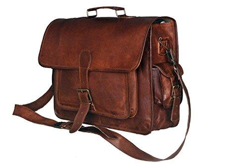 Urbankrafted Nueva Hombres Vintage Messenger Bag Hombro Laptop Maletí