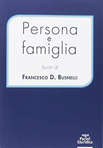 Persona e famiglia