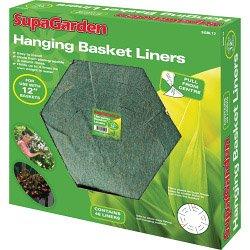 SupaGarden Hanging panier Liners 40cm / 16 \\
