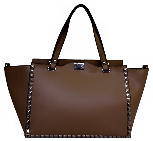 luxury-leather-bag-damen-umhangetasche-braun-dunkelbraun