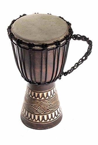20cm Profi Djembe Trommel Bongo Bali Kinder Bongo Drum Buschtrommel