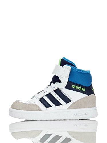 adidas Performance Enfants, Baskets Pour Ados Blanc/Bleu