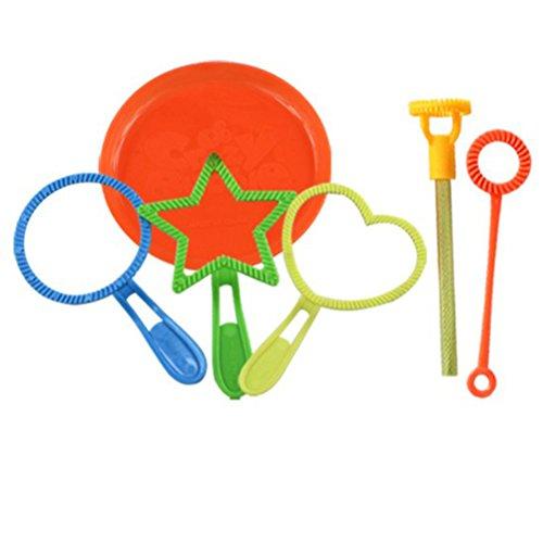 TOYMYTOY 6 piezas Bubble Wand Tool Bubble Maker Soplador