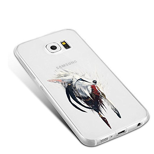 Vanki® Galaxy S7 Coque, Ultra transparente silicone en gel TPU souple Coque de Bumper et Anti Scratch Shock Absorption for Samsung Galaxy S7 6