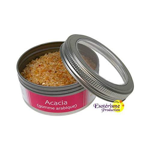 Encens acacia (gomme arabique) resine naturelle boite 100 g par  DG-EXODIF