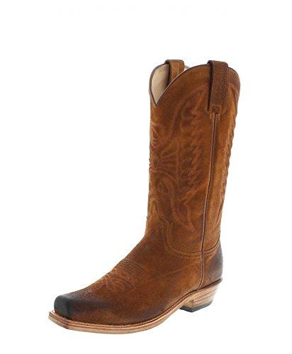 Sendra Boots 2073 Bronson Camello/Herren Cowboystiefel Braun/Westernstiefel/Cowboy Boots/Brauner Stiefel, Groesse:39