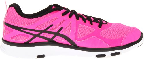 Asics  Gel-Sustain TR, Chaussures de running pour homme Hot Pink/Black/White Rose - rose